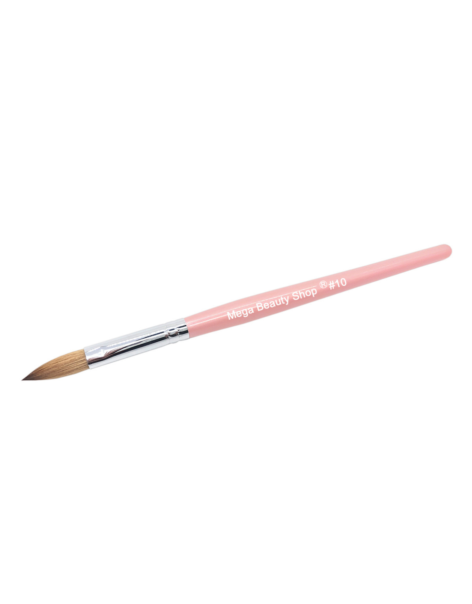 Mega Beauty Shop® Kolinsky acryl penseel - oval #10