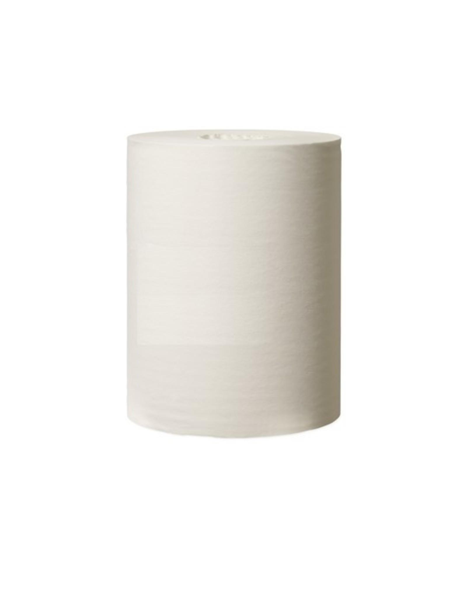 CMT Blanco mini-rol, 1-laags, wit, kernloos, 120 mtr x 21,5 cm. 1 Rol