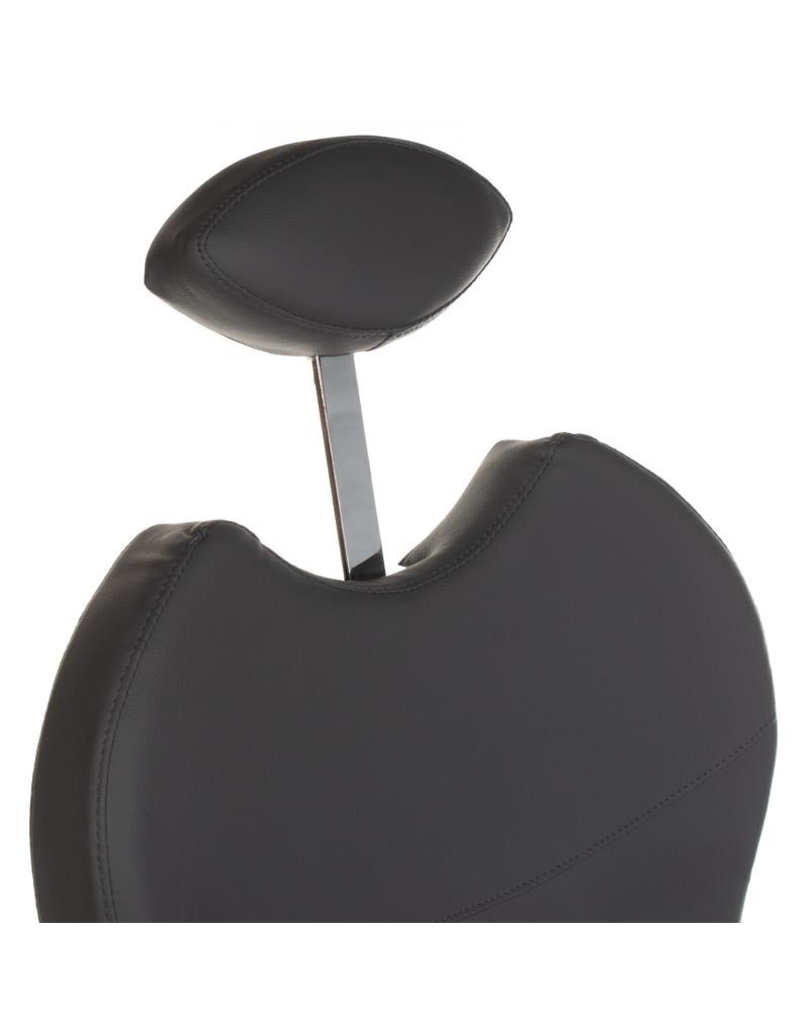 Merkloos Pedicurestoel incl. voetenbad Donker grijs (instelbaar in de gewenste stand)