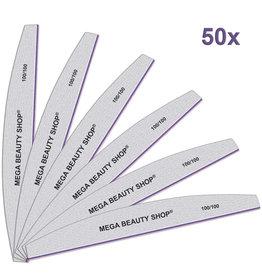Mega Beauty Shop® PRO Trapeze vijlen zebra  100/100   50st.