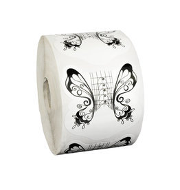 Mega Beauty Shop® Sjablonen Butterfly 500 stuks