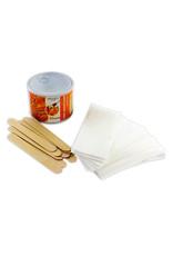 Merkloos Waxapparaat starterset 100Watt -Wax Ontharen Apparaat - Ontharingsset - Wax Strips - Waxverwarmer - Epileren