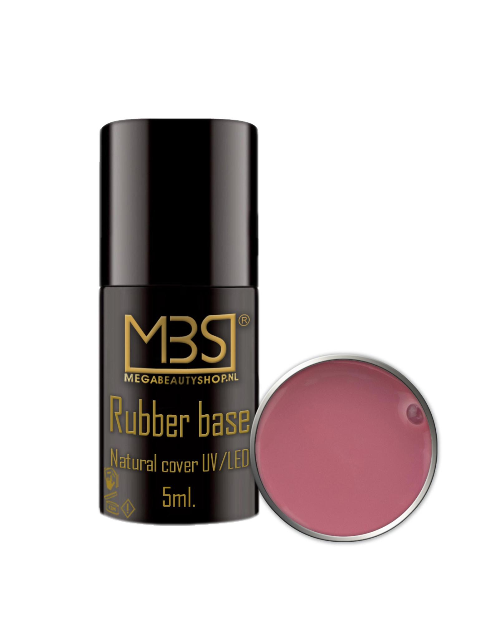 Mega Beauty Shop® Rubber Base Naturel cover 5ml.