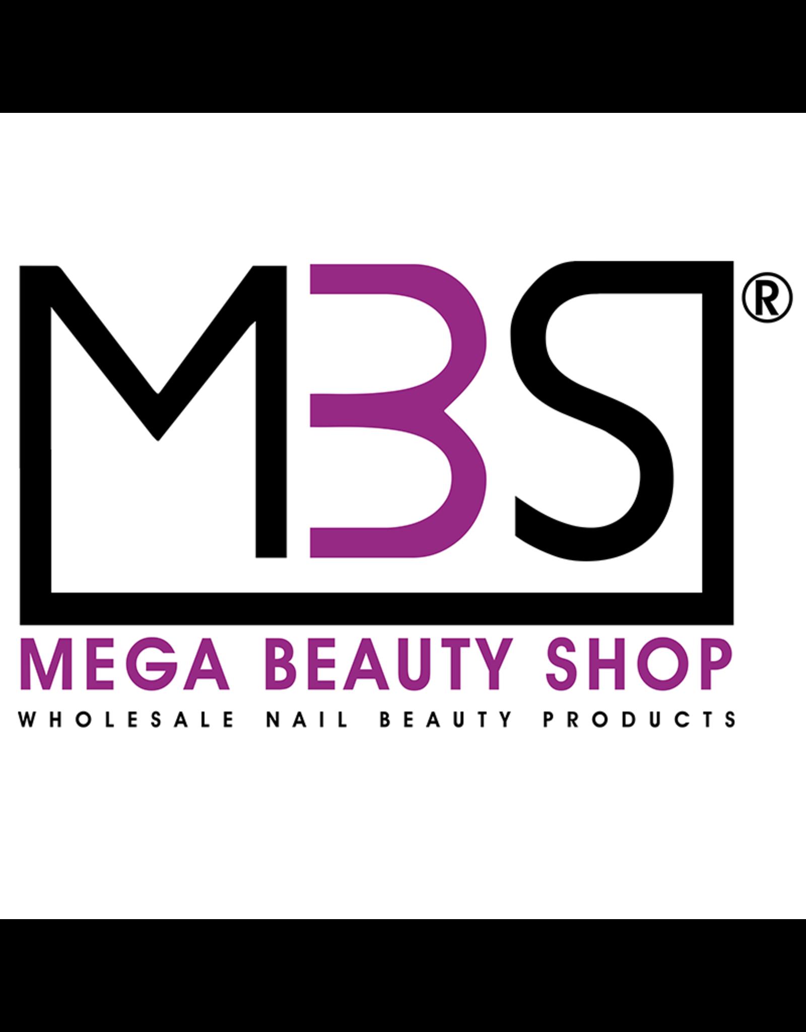 Mega Beauty Shop® Rubber gellak Exclusive Black  (09)