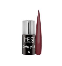Mega Beauty Shop® Rubber gellak  Wild Cranberry  (14)