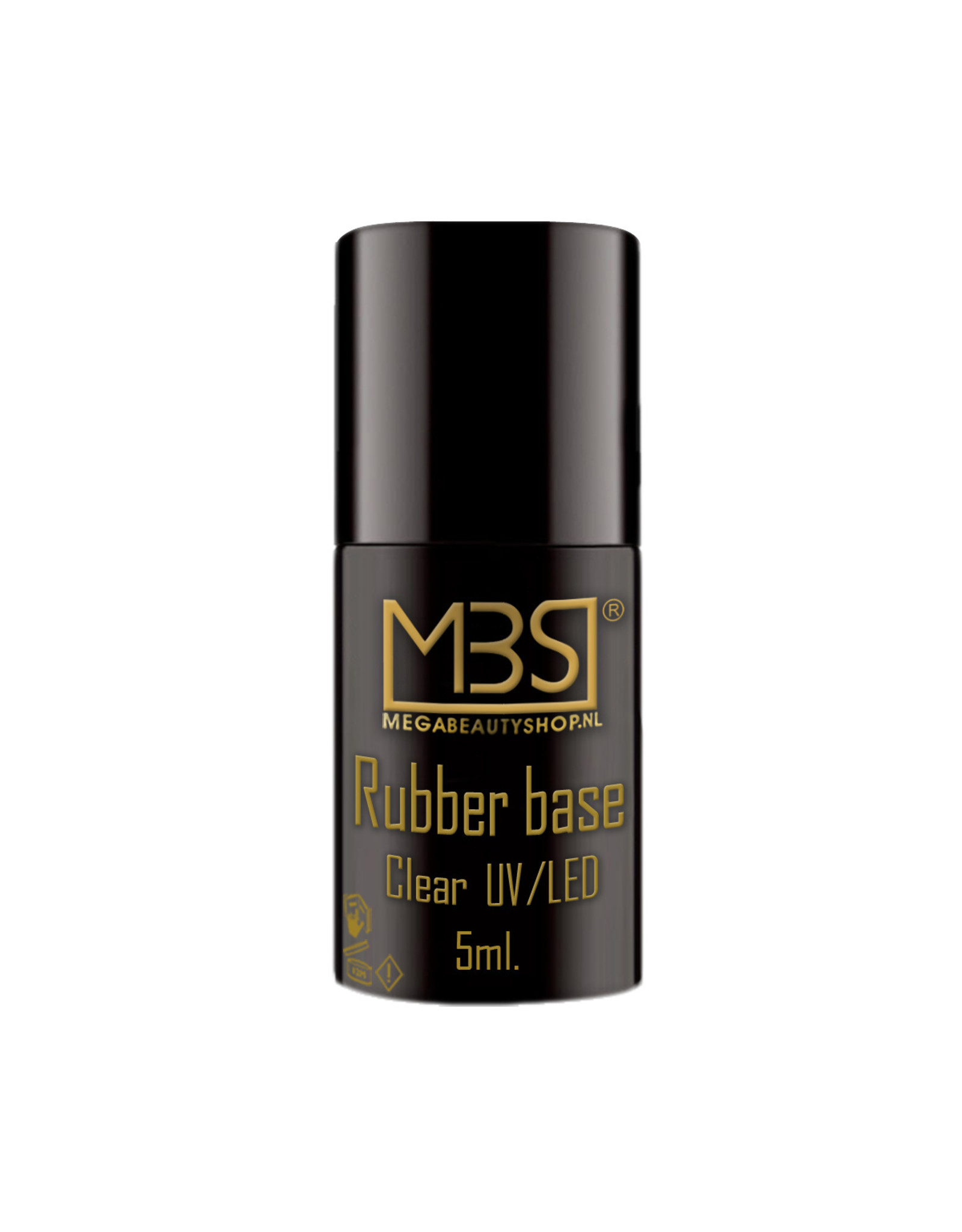 Mega Beauty Shop® Rubber gellak  Glowing Joy  (16)