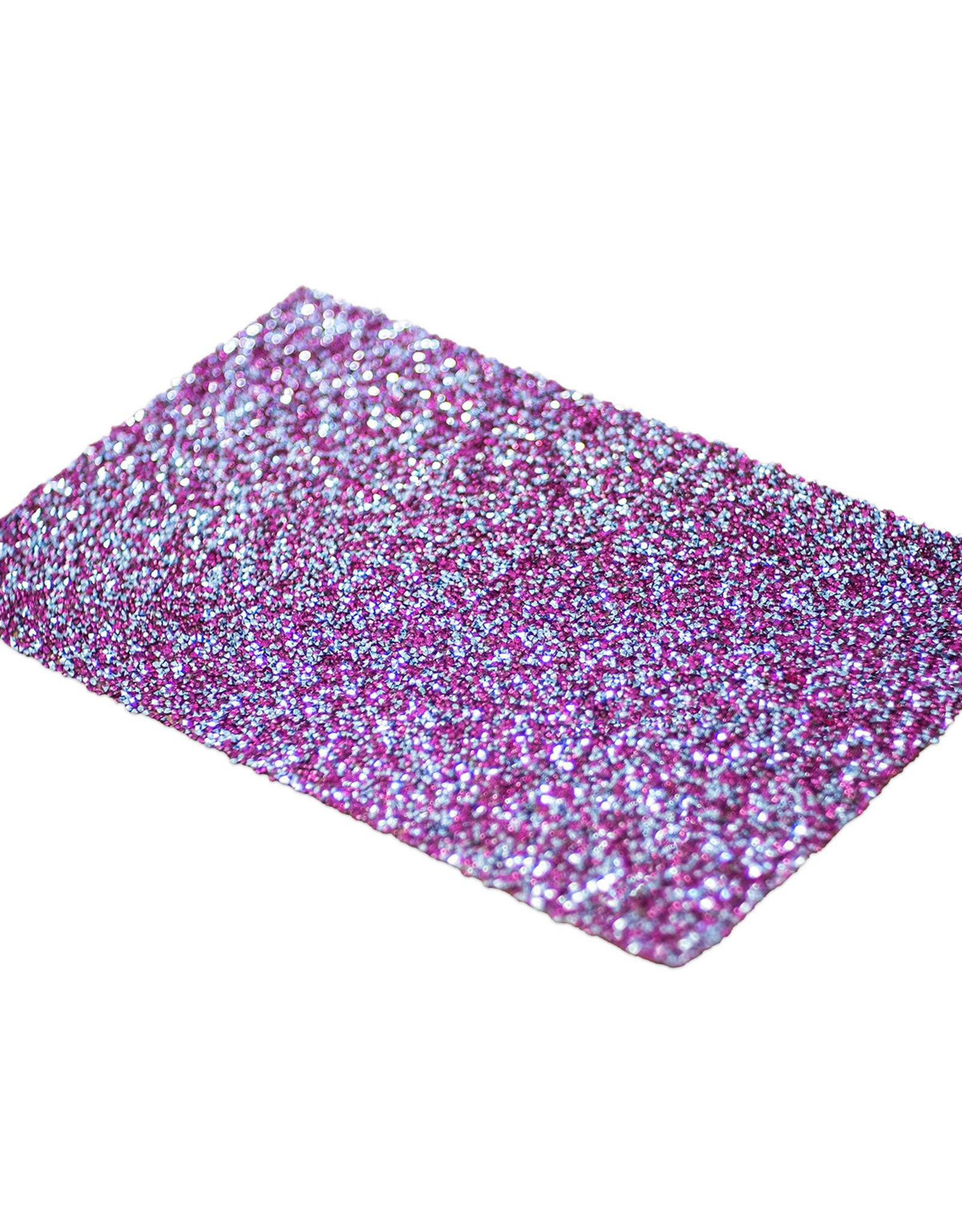 Mega Beauty Shop® Glittermat Roze-Zilver