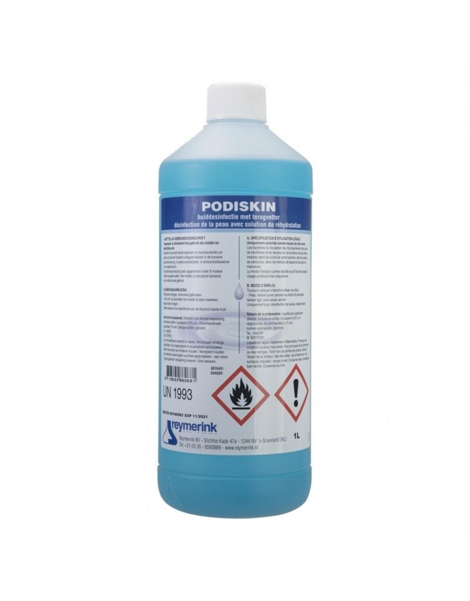 Reymerink Reymerink Podiskin 1 liter Desinfectiemiddel