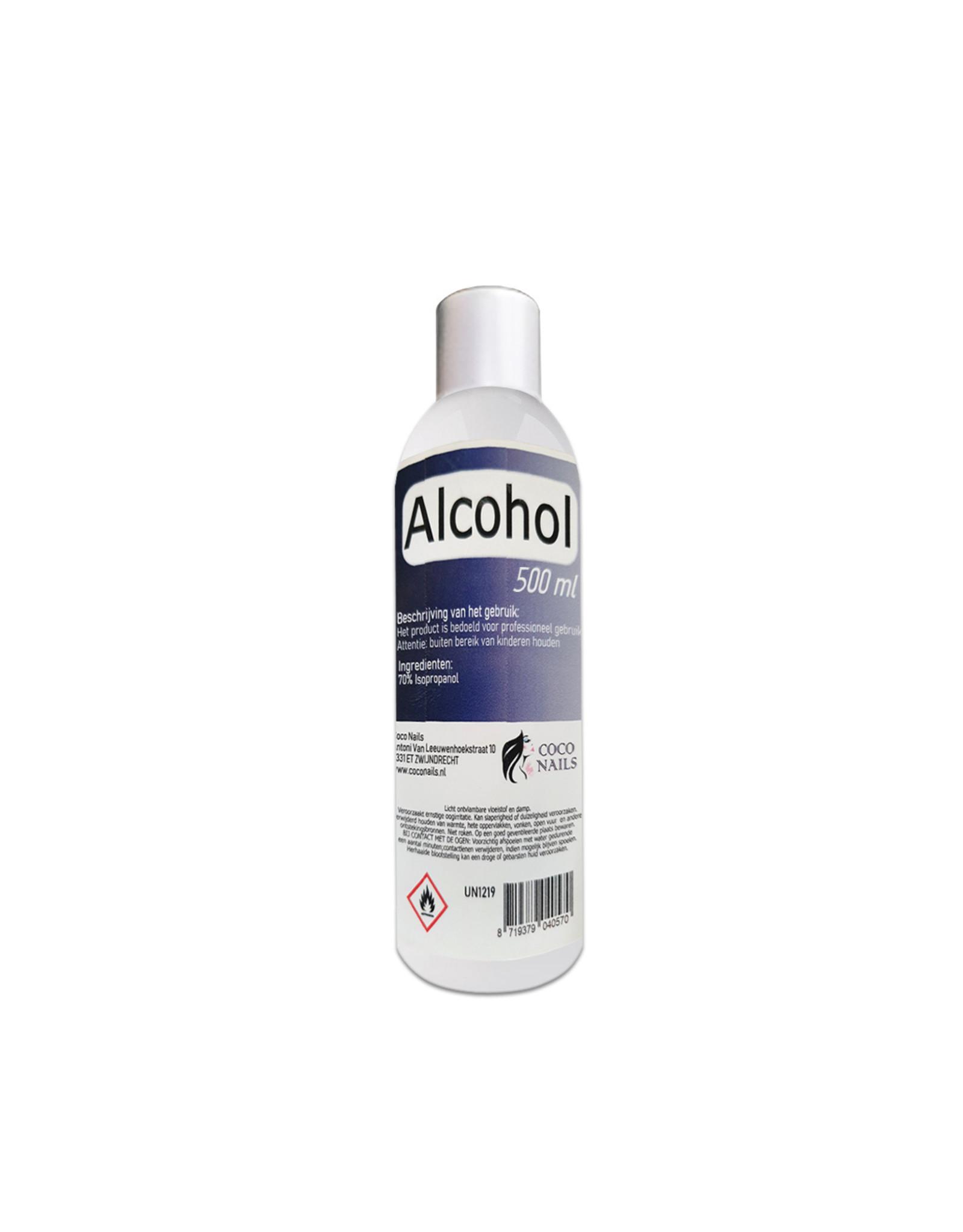 Coconails Alcohol 70% 500 ml./Desinfectiemiddel