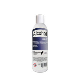 Coconails Desinfectiemiddel /Alcohol  70% - 500 ml + 1 leeg spray flesjes 100ml./Hand desinfectie