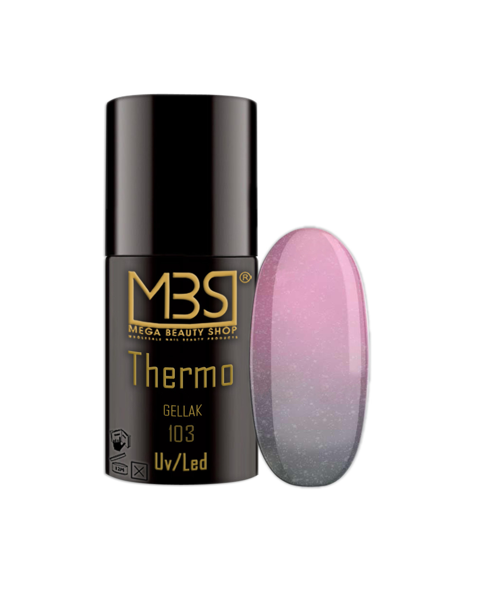 Mega Beauty Shop® Thermo gellak  5ml.   T103