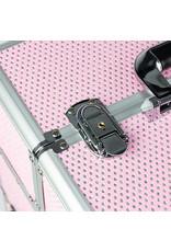 Mega Beauty Shop® Koffer groot Roze met stras