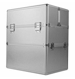 Mega Beauty Shop® Koffer groot Zilver