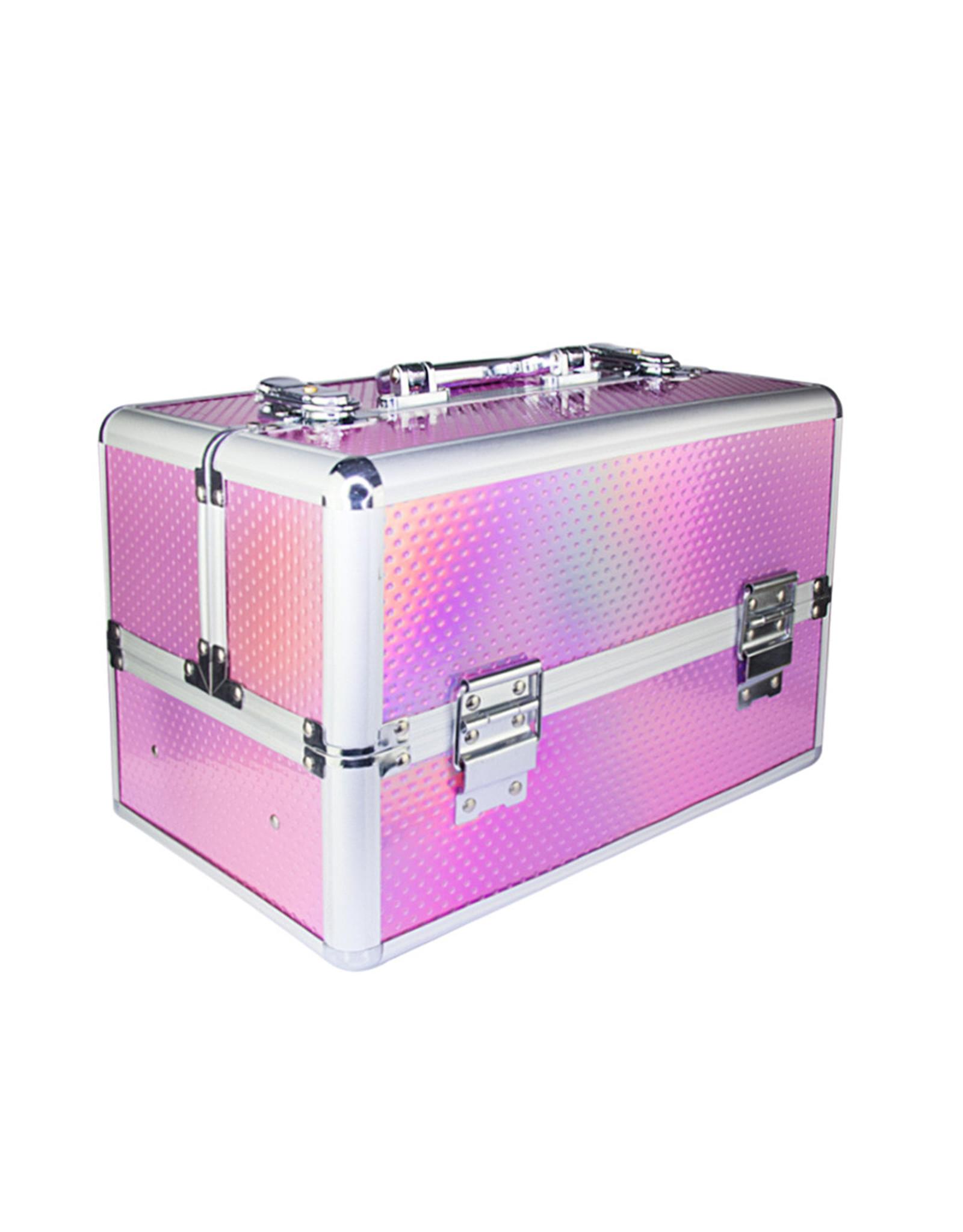 Mega Beauty Shop® Aluminium Koffer Unicorn dots