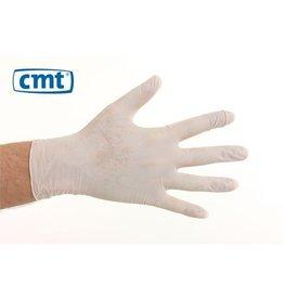 CMT CMT soft vinyl naturel handschoenen poedervrij S
