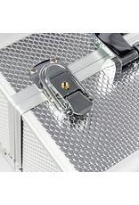 Mega Beauty Shop® Aluminium Koffer Zilver