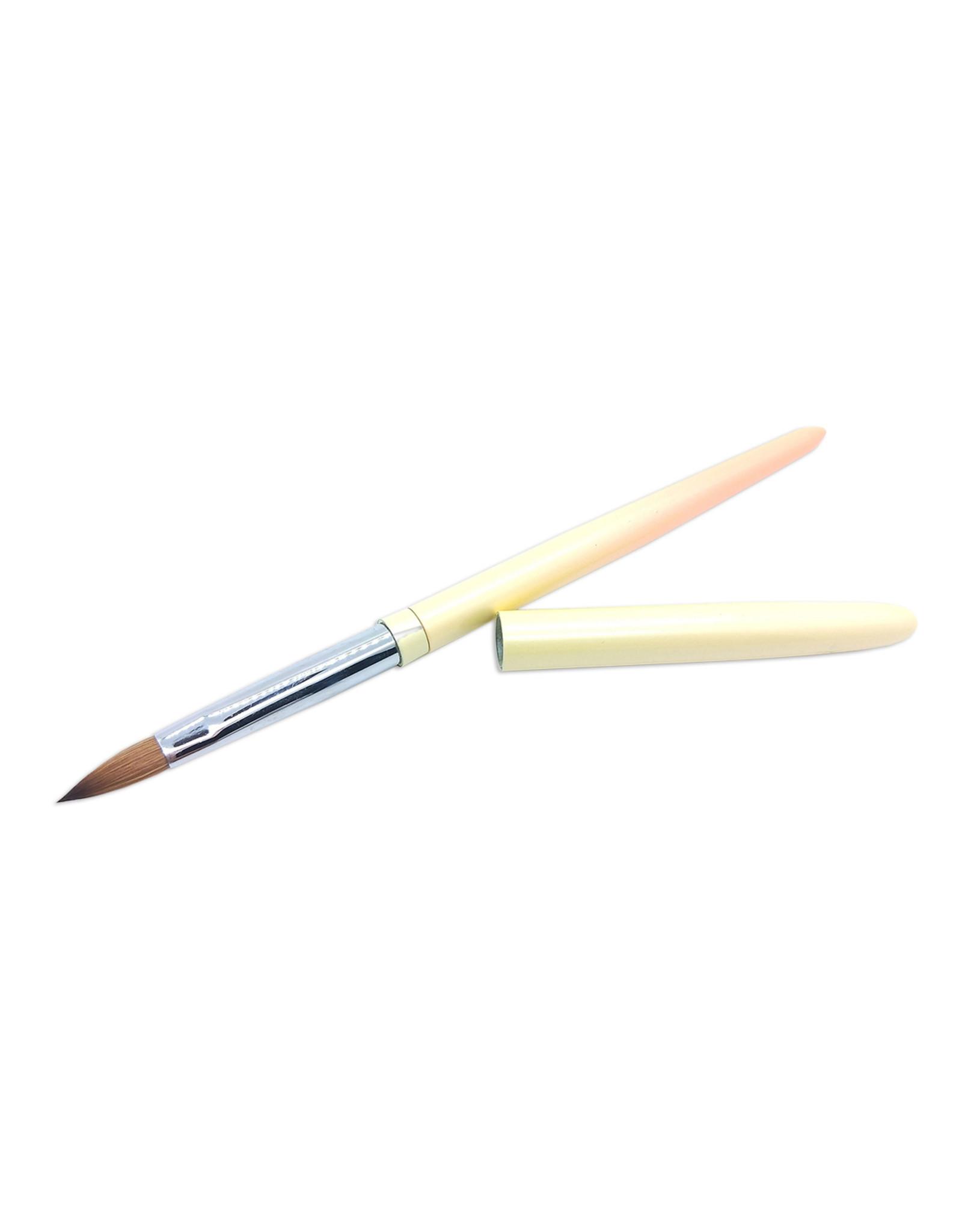 Mega Beauty Shop® Kolinsky acryl penseel Sunset - oval #12