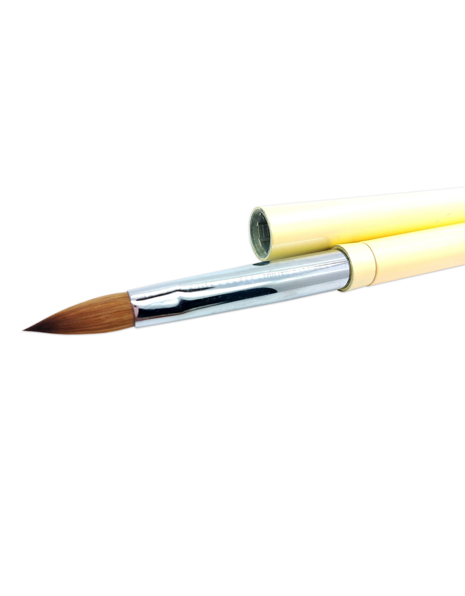 Mega Beauty Shop® Kolinsky acryl penseel Sunset - oval #8