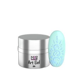 Mega Beauty Shop® Nailart gel (84)   Mint