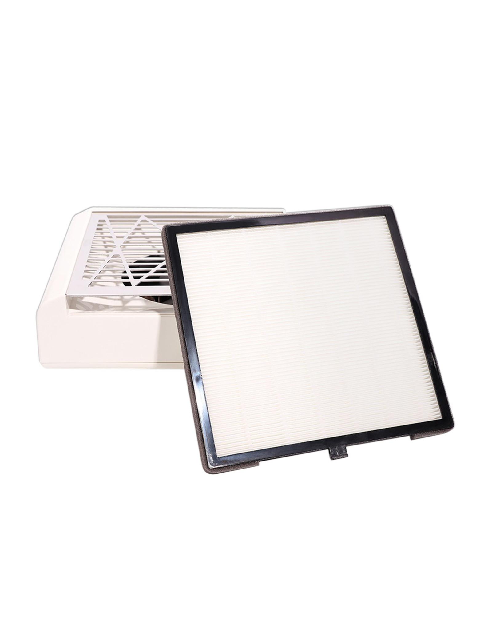 Mega Beauty Shop® Stofafzuiger Wit met filter 40Watt
