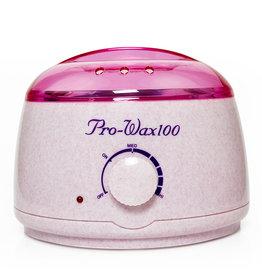 Merkloos Wax/hars verwarmer 400ML, 100W Creme/Roze