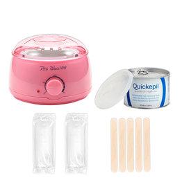 Mega Beauty Shop® Waxapparaat Pro Wax 100 starterset 6. Licht roze