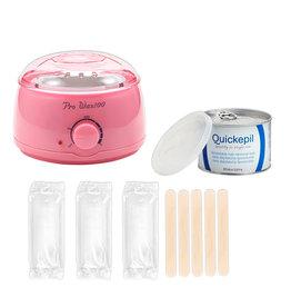 Mega Beauty Shop® Waxapparaat Pro Wax 100 starterset 7. Licht roze