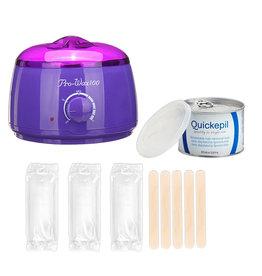 Mega Beauty Shop® Waxapparaat Pro Wax 100 starterset 7. Paars