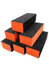 Mega Beauty Shop® Polijstblok Zwart/Oranje  (10stuks)