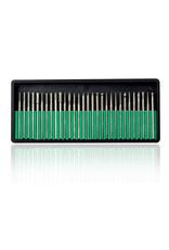 Mega Beauty Shop® Nagelfrees Zwaer + 3 MBS® trapeze vijlen, klein bitsets, Freesset 30-delig en 150 schuurrolletjes