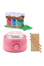 Mega Beauty Shop® Waxapparaat Pro Wax 100 starterset 9. Licht roze