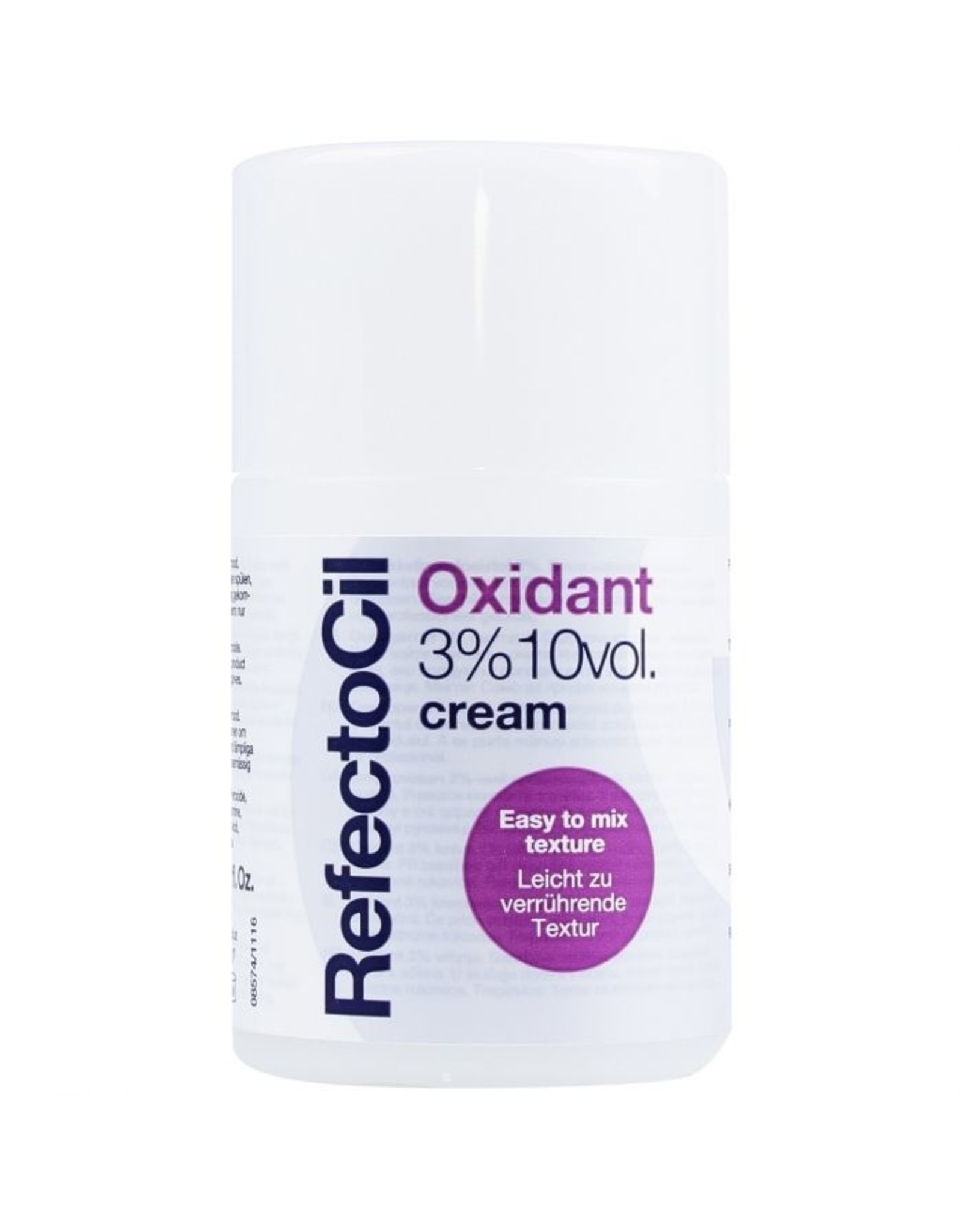 Mega Beauty Shop® RefectoCil - Oxidant 3% creme - 100 ml