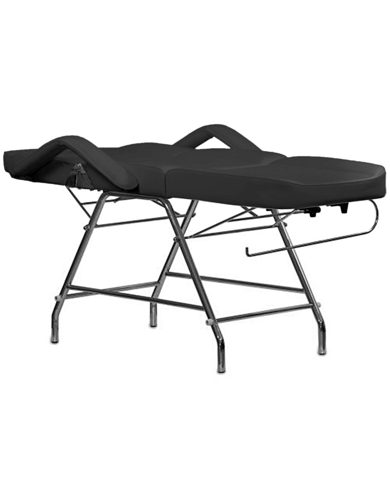 Mega Beauty Shop® Behandelstoel/Pedicurestoel Zwart