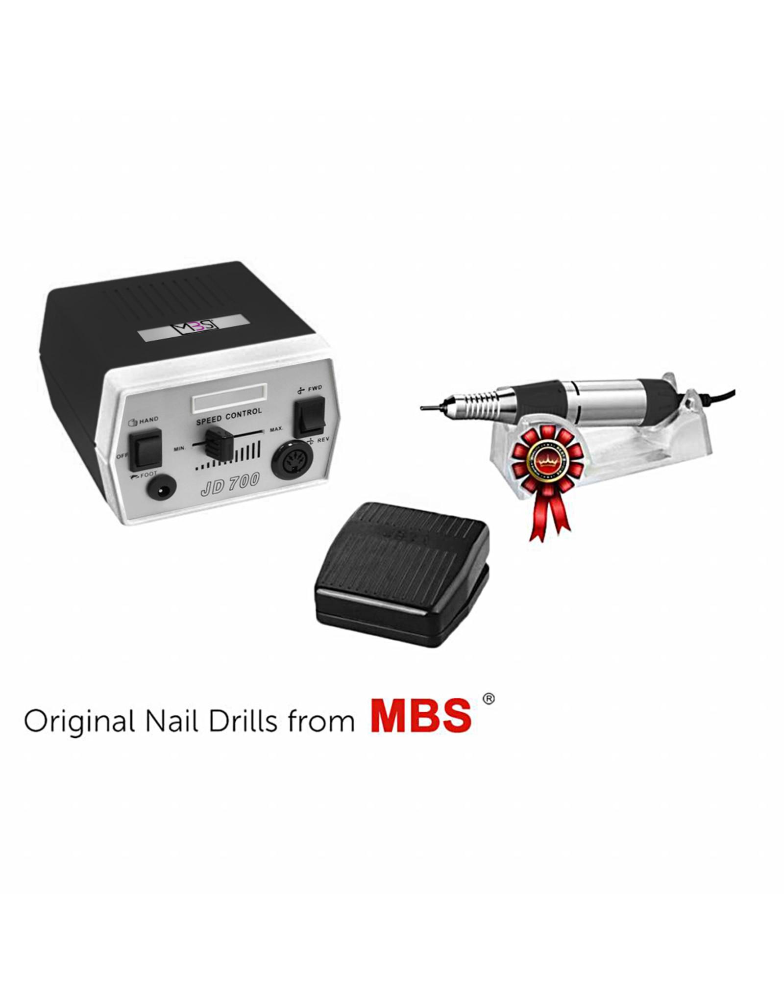 Mega Beauty Shop® Nagelfrees JD700 35Watt Originele MBS®   zwart