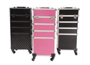 Aluminium koffer/Trolley