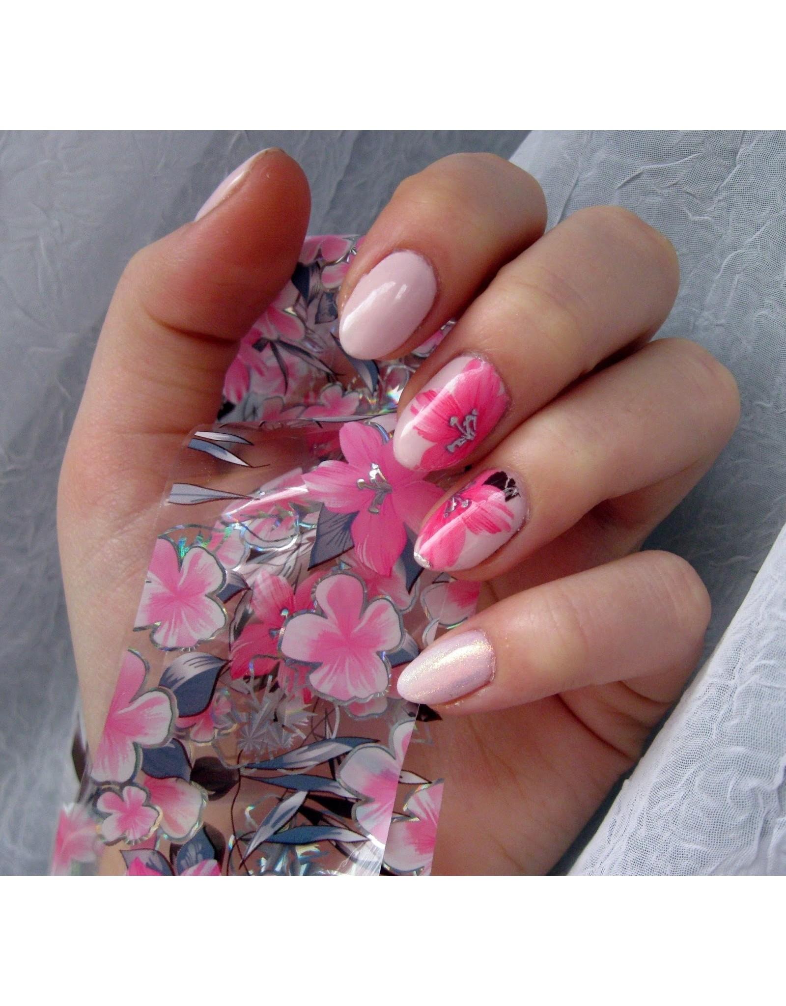 Merkloos Nagel transfer folie nail art set (01) Christmas