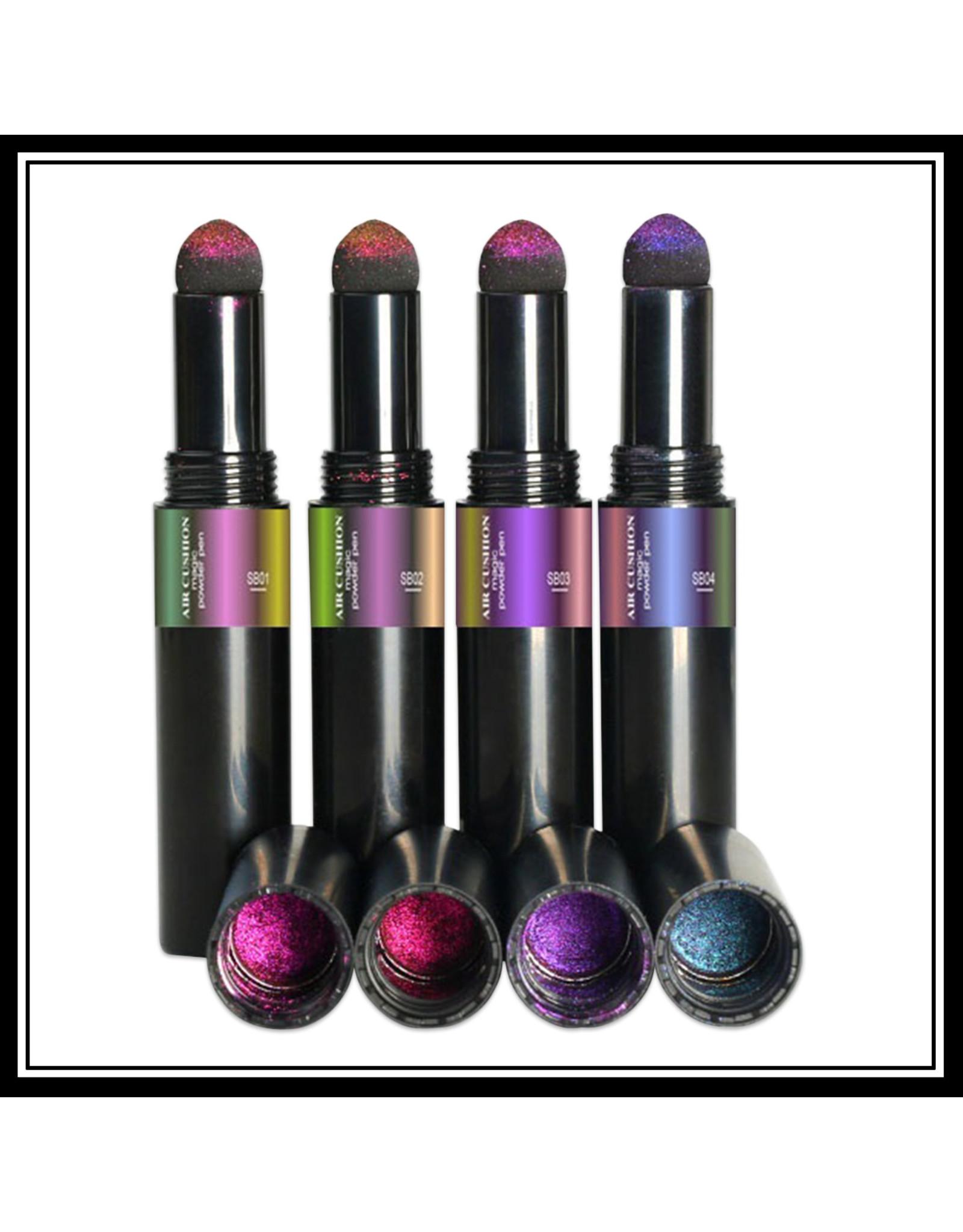 Mega Beauty Shop® Chrome pigment pen Green-Violet-Gold