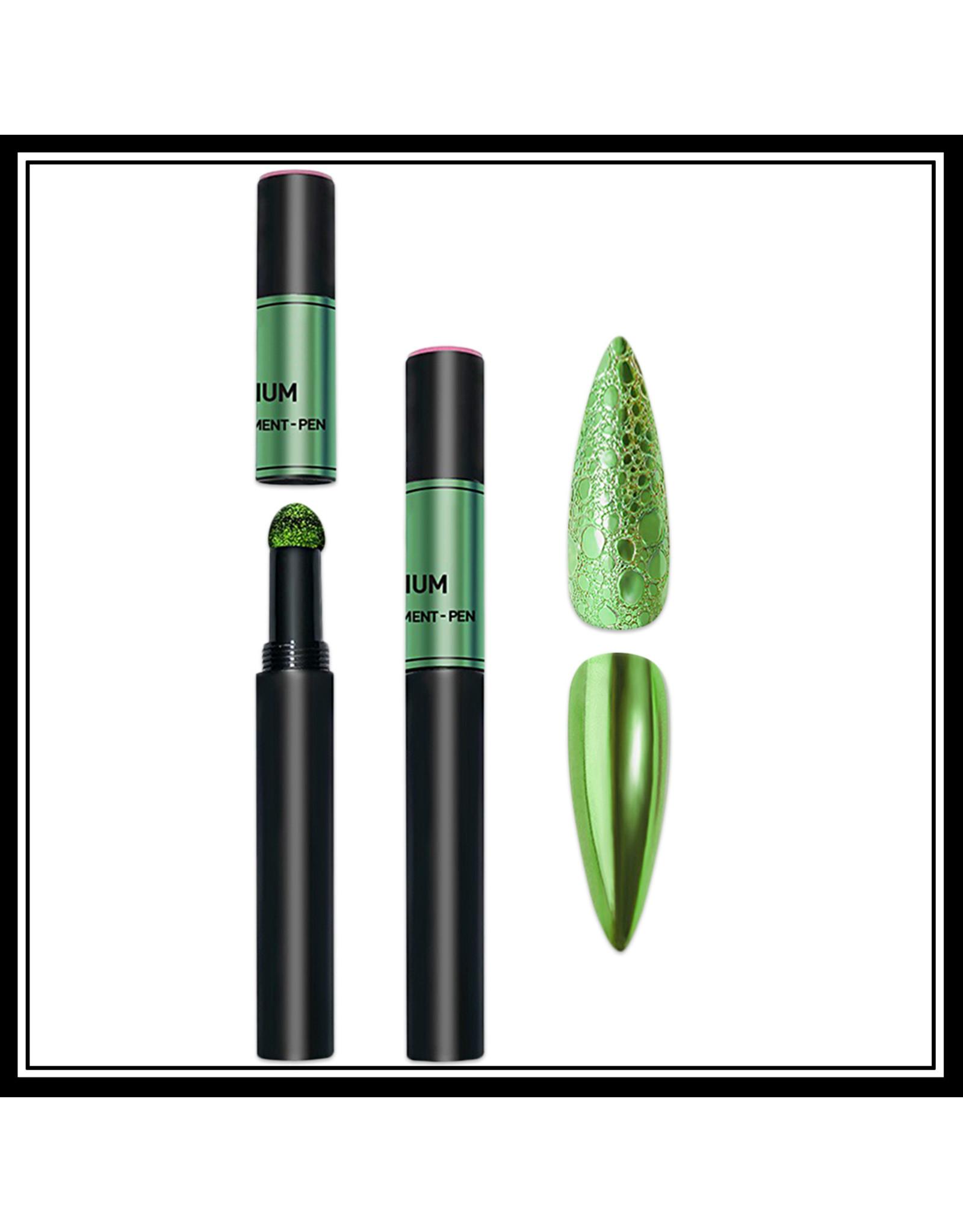 Mega Beauty Shop® Nail art Mirror pigment pen Green