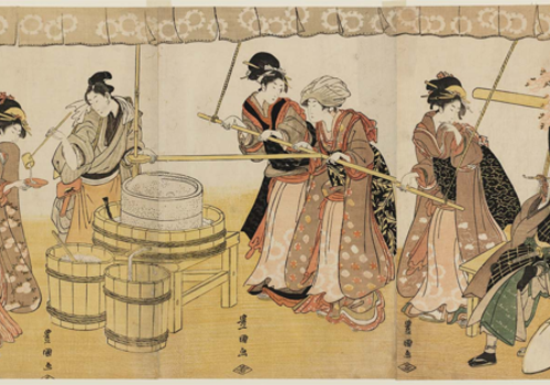 Geschiedenis van sake