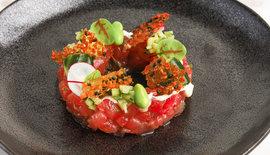 Tonijn tartaar met verse wasabi