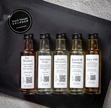 Dutch Wasabi Sake extended tasting set