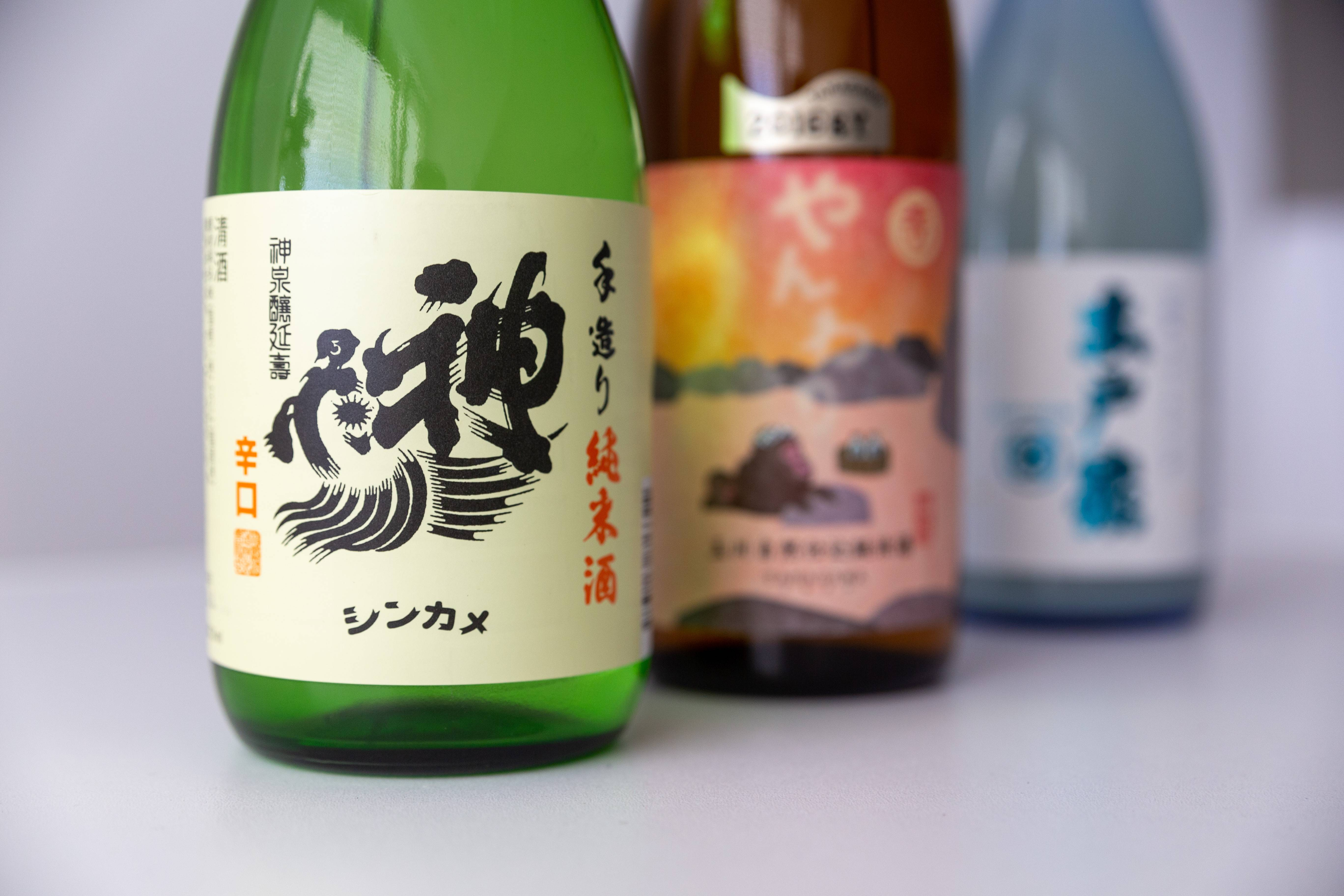 New additions to our sake collection