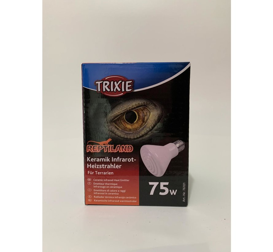 Trixie keramische warmtelamp 75W