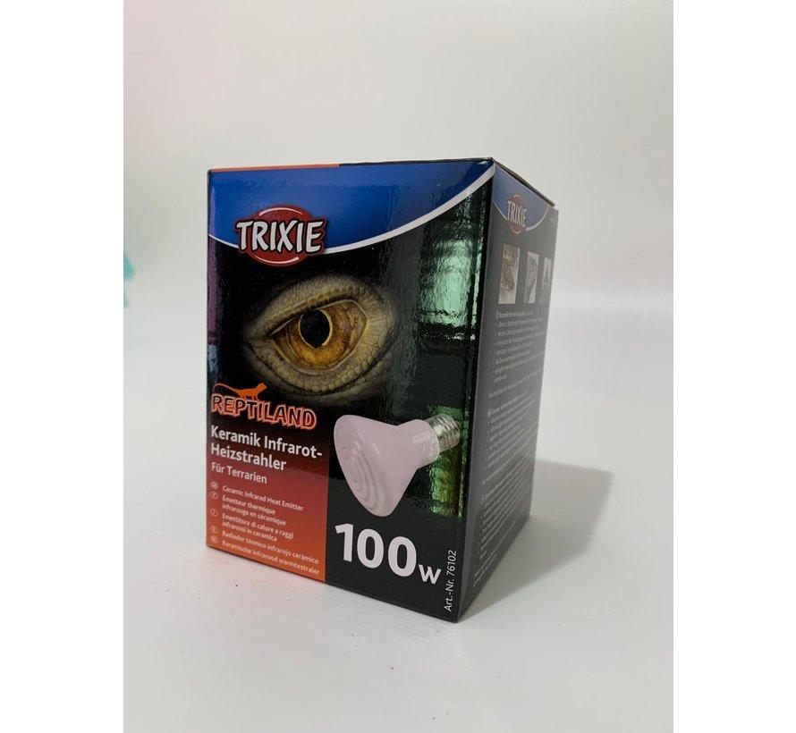 Trixie keramische warmtelamp 100W