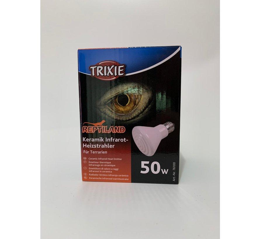 Trixie keramische warmtelamp 50W