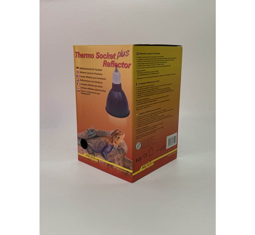 Lucky Reptile Thermo Socket plus Reflector small