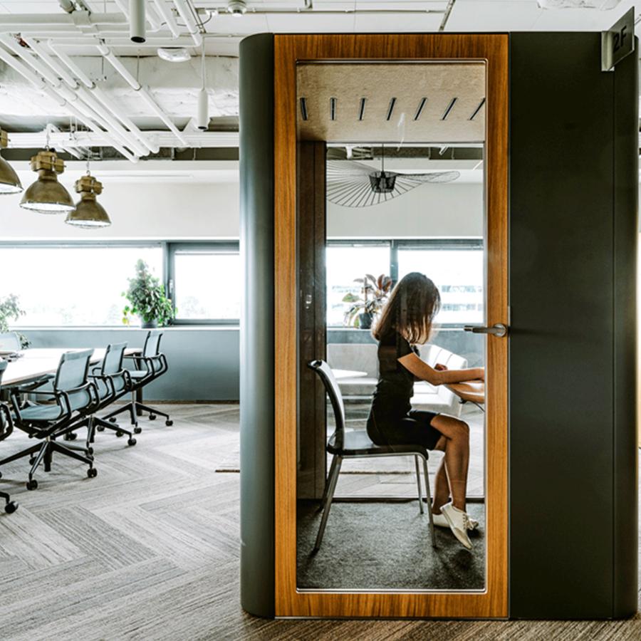 Akoestische oplossingen voor op kantoor