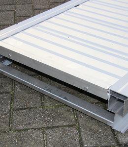 Aluminium loopbrug 5 mtr.