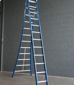Premium ladder 2 x 16 sporten geen A-stand