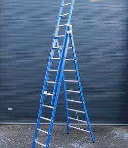 Premium ladder 3 x 14 sporten geen A-stand